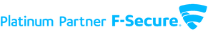 F-Secure Platinum Parner logo